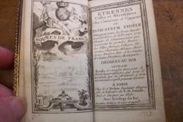 Atlas:Etrennes Utiles Et Nécessaires Aux Commercans Et Voyageurs Ou Indicateur Fidèle.L.C.DESNOS.176 Pp.156 Cartes.1772. - Livres, BD, Revues