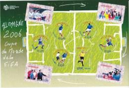 2006 - Feuillet N°97 - Coupe Du Monde De Football En Allemagne - Neuf** - Sheetlets