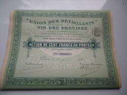 VIN DES PONTIFES (1908) - Actions & Titres