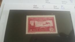 LOT 218306 TIMBRE DE  FRANCE NEUF** N�5 VALEUR 47 EUROS