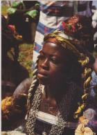AFRIQUE De L´ouest,AFRICA,AFRIKA,SEN EGAL,ZIGUINCHOR,CASAMANCE ,femme Avec Collier,talisman,danseuse ,femme Tres Belle - Sénégal