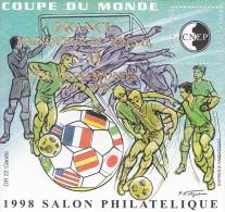 Bloc CNEP N° 27 Coupe Du Monde 98 Surchargé France 3 à 0 - CNEP