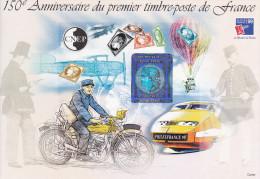 Bloc CNEP N° 30a  Anniversaire Du Premier Timbre De France, Bloc Non Dentelé - CNEP