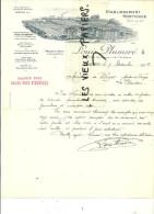 90 - Territoire-de-belfort - BELFORT - Facture PLUMERE - Horticulteur – 1914 - REF 3H - France