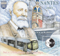 Bloc CNEP N° 38 Jules Verne Nantes 2003 - CNEP