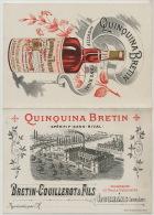 Pub Quinquina Bretin Couillerot A Louhans Distillerie Expo Paris 1900 Aperitif - Other Collections