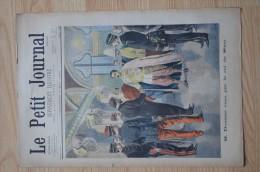 Le Petit Journal - 7 mai 1899 - M. Doumer re�u par le Roi de Siam / L�assassin de Choisy-le-Roi � l�anthropom�trie