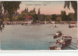 Republica Argentina- Tigre - Post Card Inused