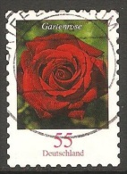 Allemagne - 2008 - Rose Rouge - YT 2495 Oblitéré - Rose