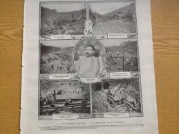 1905 CATASTROPHE D'ARCEUIL / GUERRE RUSSO JAPONAISE / ALPHONSE XIII / ELEONORA DUSE / BUFFALO BILL AU CHAMP DE MARS