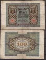 Weimarer Republik , Infla , 100 Mark , 1920 , RB-67 B , VG - 100 Mark