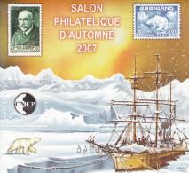 Bloc CNEP N° 49 Salon D´Automne PARIS 2007 - CNEP