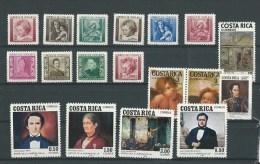 Costa Rica: 1lot ** (voir Détail) - Costa Rica