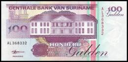 SURINAME. 100 Gulden - 10.02.1998. Pick 139. UNC - Surinam