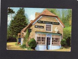 48185    Regno  Unito,    16th Century  Thatched Cottage,  Godshill,  Isle Of  Wight,  VG  1970 - Ventnor