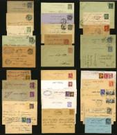 FRANCE - LOT DE 31 ENTIERS POSTAUX OBLITERES - 1882 à 1951 - Entiers Postaux