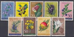 Yugoslavia Republic 1959 Flowers Mi#882-890 Mint Never Hinged - 1945-1992 Socialistische Federale Republiek Joegoslavië