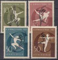 Yugoslavia Republic 1957 Sport Mi#823-826 Mint Never Hinged - 1945-1992 Socialistische Federale Republiek Joegoslavië