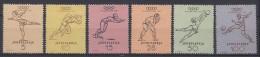 Yugoslavia Republic Olympic Games In Helsinki 1952 Mi#698-703 Mint Never Hinged - 1945-1992 Socialistische Federale Republiek Joegoslavië