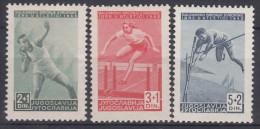Yugoslavia Republic 1948 Sport Mi#557-559 Mint Never Hinged - 1945-1992 Socialistische Federale Republiek Joegoslavië