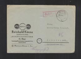 Brief Gebühr Bezahlt Netzschkau 1945 - Sowjetische Zone (SBZ)