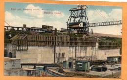 Miraflores Locks Panama Canal 1905 Postcard - Panama