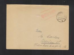 Brief Gebühr Bezahlt Freital 1945 - Sowjetische Zone (SBZ)