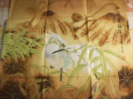 Original Chinese Painting:Two Birds,25x25in - Other Collections