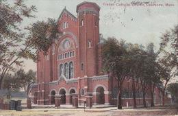 LAWRENCE FRENCH CATHOLIC CHURCH 1908 - Lawrence