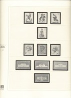 BRD Deutschland Safe 2213 Vordruckblätter 1970 - 1980 Gebraucht Ohne Marken - Albums & Binders