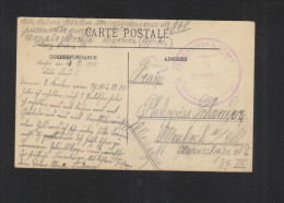 CP Prisonniers De Guerre Camp De Meridja Algerie 1915 - Poststempel (Briefe)