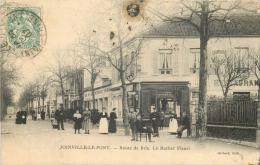 94 JOINVILLE-LE-PONT ROUTE DE BRIE LE ROCHER FLEURI ANIMES - Joinville Le Pont