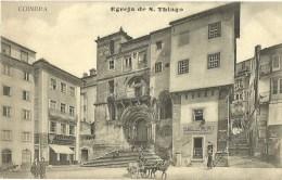 COIMBRA EGREJA DE S. THIAGO AVEC LA FACADE DE LA PHARLACIA - Coimbra