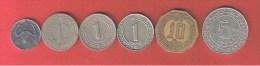 ALGERIE  //   Lot De 6 Monnaies - Algeria