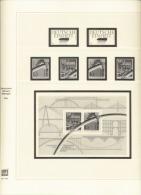 BRD Deutschland Safe 2214 Vordruckblätter 1990 - 1996 Gebraucht Ohne Marken - Albums & Binders