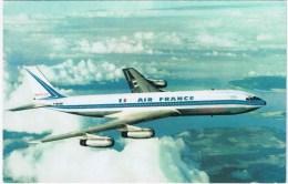 Cpsm  Boeing 707 Intercontinental - 1946-....: Moderne