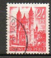 RHENO-PALATIN  24p Rose 1947-48  N°8 - Zone Française