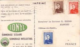 IRAN - TEHERAN - PLASMARINE - IONYL - SUR LES TRACE DE MARCO POLO 1953-1954-ARRIVEE EN PERSE. - Iran