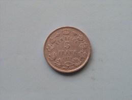 1933 VL / 5 Franc Een Belga - Morin 389 A ( For Grade, Please See Photo ) !! - 1909-1934: Albert I