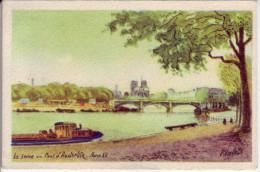 Calendrier - 1954 - Claude. Bonneterie Chemiserie - Enghien Les Bains - - Calendriers