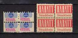 F 281  Viñeta  Label, Vignette  Alemania Kessel Rabatt Strackbein - [7] République Fédérale