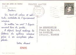 IRLANDE- EIRE - CROISIERE 1957-58 -  MILLE ANS APRES LES VIKINGS - IONYL - PLASMARINE - FALAISE DE BALLYBUNION. - Covers & Documents