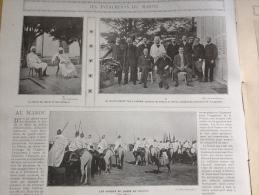 1905 LES �V�NEMENTS DU MAROC / EXPOSITION DE SAINT LOUIS / TOLSTOI / LA REINE DU SIAM / PORT ARTHUR / MANDCHOURIE