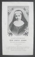 IMAGE PIEUSE AVEC TEXTE Vers 1930/40 : LA SERVANTE DE DIEU SOEUR EUGENIE JOUBERT / HOLY CARD / SANTINO - Images Religieuses