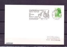 Rép. Française - Contrexeville - Station Thermale - 22/6/84     (RM5712) - Cygnes