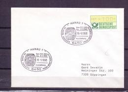 Deutsche Bundespost - 100 Jahre Hanauer Privat-Briefverkehr - Hanau 15/5/1993  (RM5723) - Cygnes