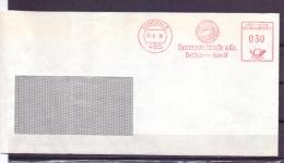Deutsche Bundespost -  Hermann Stucke Bettfedern Fabrik - Minden 26/6/70    (RM5728) - Cygnes