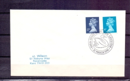 Great Britain  - Swan House  Leicester 21/3/1991   (RM57572) - Cigni