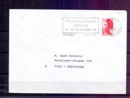 Rép. Française - Festival Des Oiseaux Fouras 23-25/9/88 - Fouras 19/9/88  (RM6131) - Oiseaux