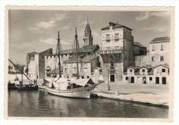 Trogir  jachthaven, zeilschepen